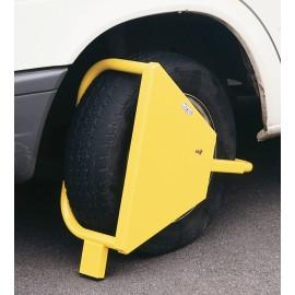 Antivol bloc roue MOTTEZ pour caravanes