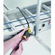 Câble antivol ajustable pour échelles