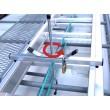 Crochet antivol pour échelles galeries des véhicules utilitaires