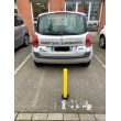 Poteau rabattable de parking KFZ 106 installation parking